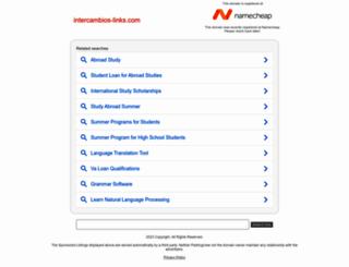 intercambios-links.com screenshot