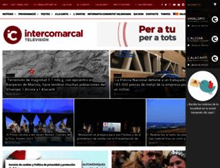 intercomarcal.com screenshot
