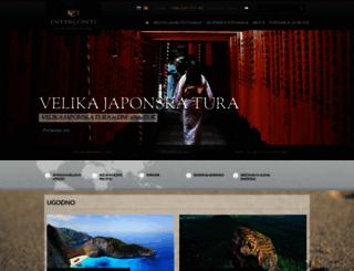 interconti.si screenshot