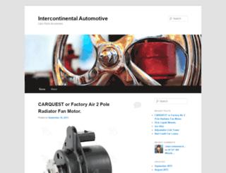 intercontinentalauto.wordpress.com screenshot