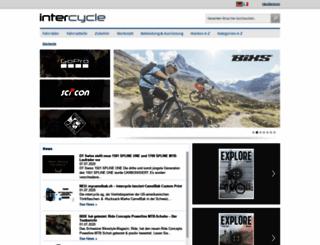 intercycle.com screenshot
