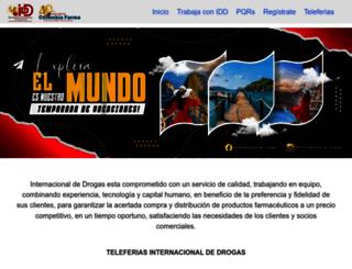 interdrogas.net screenshot