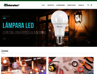 interelec.com.ar screenshot