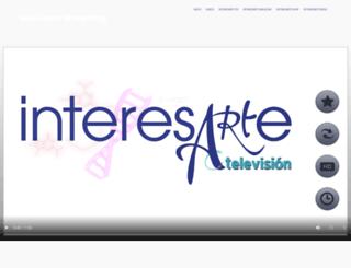 interesarte.tv screenshot
