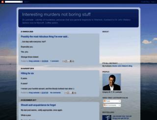 interestingmurders.blogspot.com screenshot