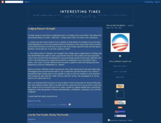 interestingtimes.blogspot.in screenshot