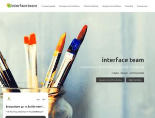 interface-team.com screenshot