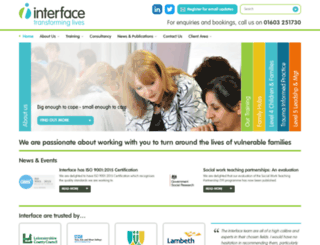interfaceenterprises.co.uk screenshot