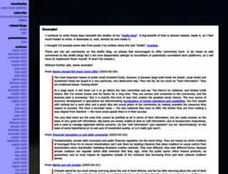 interfluidity.com screenshot