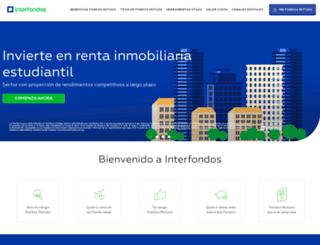 interfondos.com.pe screenshot