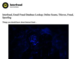 interfraud.org screenshot