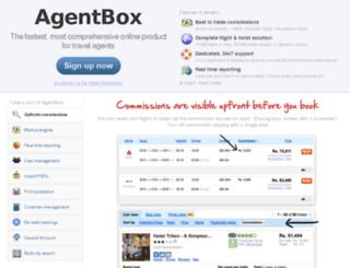 intergitytravel.agentbox.com screenshot