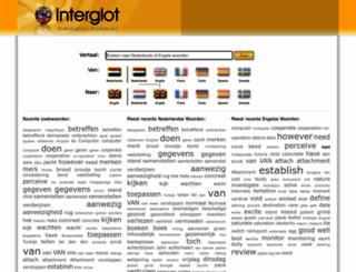 interglot.nl screenshot
