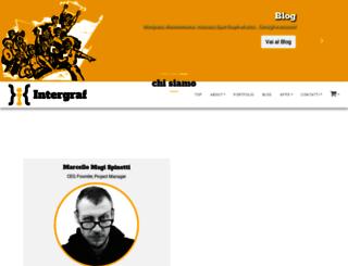 intergraf.it screenshot