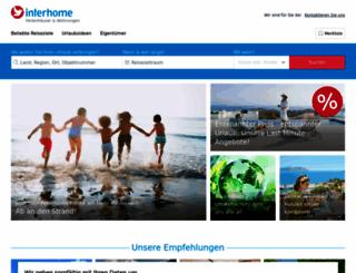 interhome.de screenshot