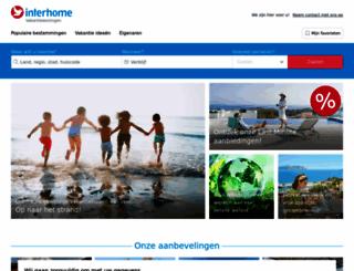 interhome.nl screenshot