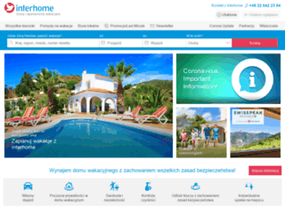 interhome.pl screenshot