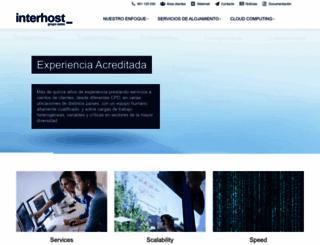 interhost.com screenshot