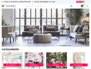 interieurshopper.nl screenshot