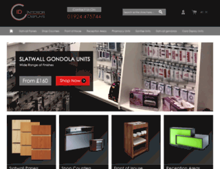 interior-displays.co.uk screenshot