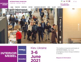 interior-mebelkiev.com screenshot