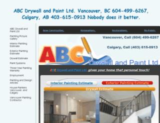interior-painter.ca screenshot