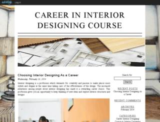 interiordesigning.edublogs.org screenshot