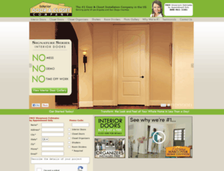 interiordoorco.com screenshot