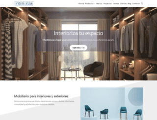 interioriza.com.mx screenshot