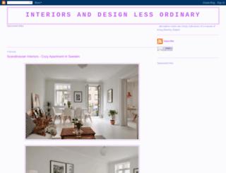 interiors-and-design.blogspot.com screenshot