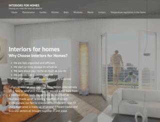 interiorsforhomes.co.uk screenshot