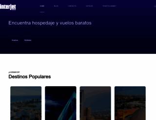 interjet.com.mx screenshot