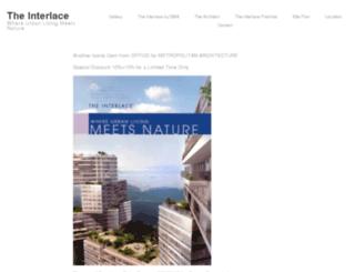 interlace-condominium.com screenshot