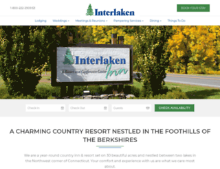 interlakeninn.com screenshot