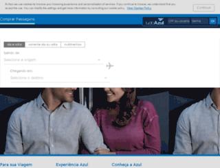 interline.voeazul.com.br screenshot