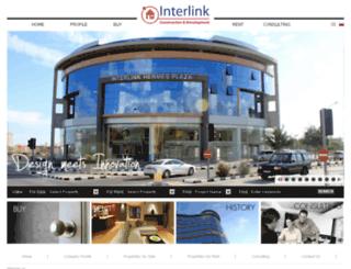 interlinkproperties.com screenshot