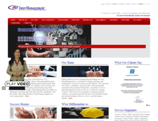 intermanagement.com screenshot