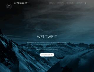 intermaps.com screenshot