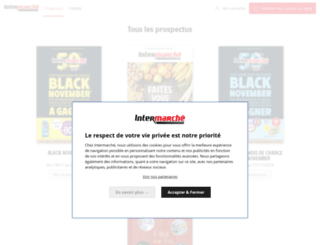 intermarche.webalogues.fr screenshot