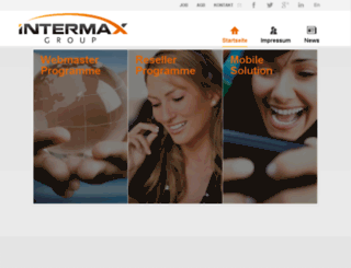 intermax-ag.com screenshot