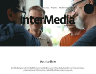 intermedia.fhv.at screenshot