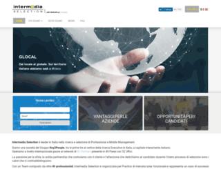 intermediaselection.hrweb.it screenshot