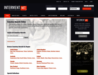 interment.net screenshot