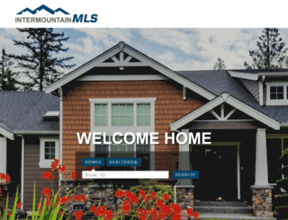 intermountainmls.com screenshot