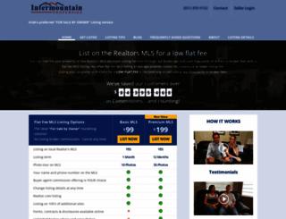 intermountainproperties.com screenshot