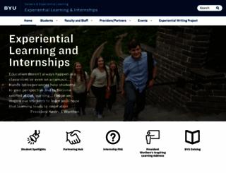 intern.byu.edu screenshot