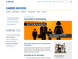 intern.ucsc.edu screenshot