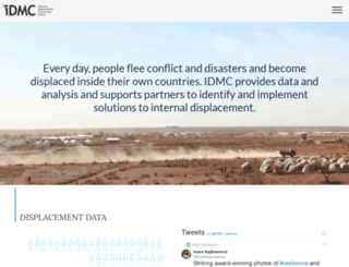 internal-displacement.org screenshot
