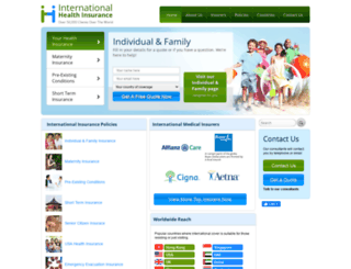 international-health-insurance.com screenshot