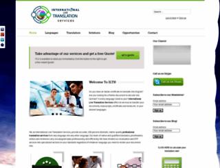international-live-translation-services.com screenshot